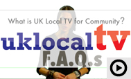 What is UK Local TV for Community?
